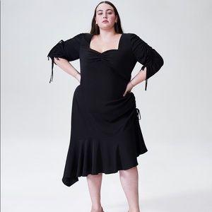 NWT Rodarte x Universal Standard Dress in Black